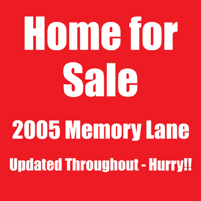 home for sale yard signs