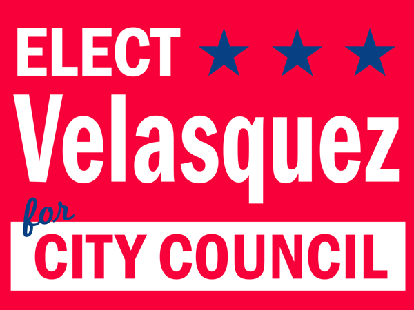 city council lawn signs